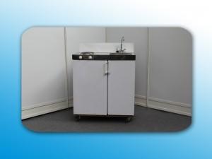 Kombiküche, mit Kühlschrank, Boiler und Kochplatte Artikel: 0904