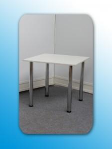 Holztisch weiß 80 x 80cm Artikel: 0304
