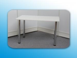 Holztisch weiß 120 x 80cm Artikel: 0305